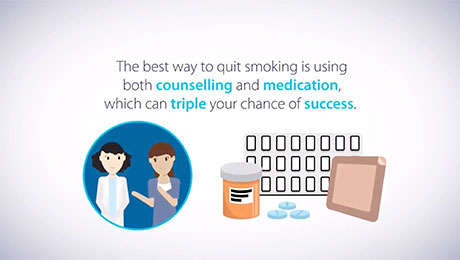 Animation about quitting smoking